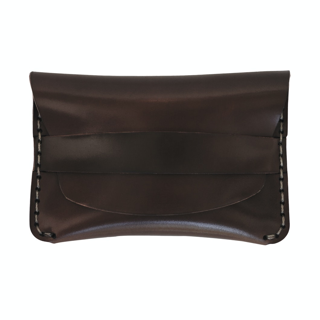 MAKR - Cordovan Flap Slim Wallet - Made in USA