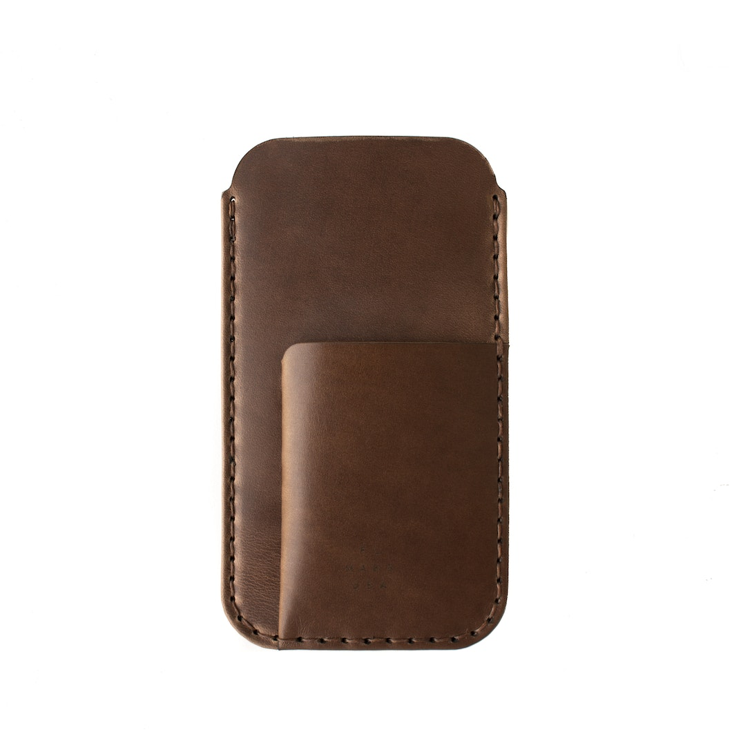 official photos ca16a 76ede iPhone / Card Sleeve - Bark - Bark Horween® Chromexcel® Leather