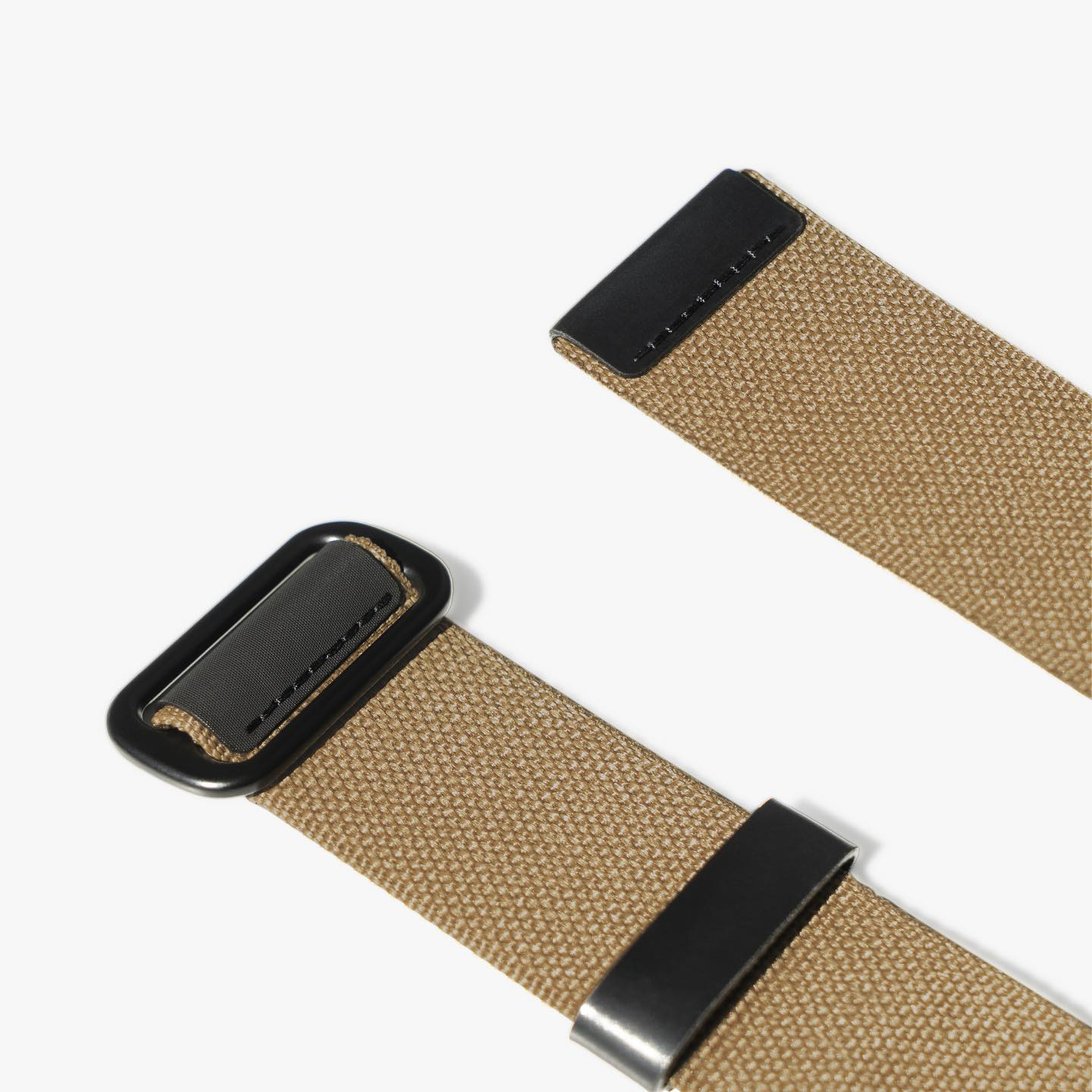 Our new collaborative Tri-Glide Belt with C'H'C'M' is now available in Tan, Army, and Black - $140. @chcm_shop #makrjournal #makrstudio