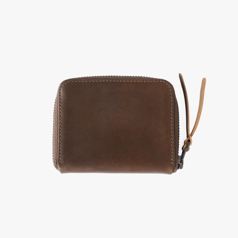 3/4 Zip wallet in Brown Horween Latigo now available. #makrjournal #makrp3316
